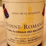 Vosne-Romanée 1er Cru Au-Dessus des Malconsorts 2013, Henri et Gilles Remoriquet