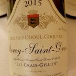 "Morey-Saint-Denis ""Les Crais-Gillon"" 2015, Dom. Odoul Coquard"
